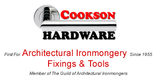 First for Architectural Ironmonger Fixings and Tools