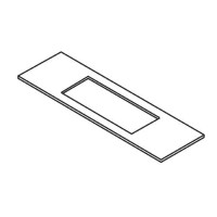 Trend lock jig templates and spares trend spares router jigs trend lock jig accessory template wp lockt313 22mm x 165mm faceplate pronofoot35fo Images