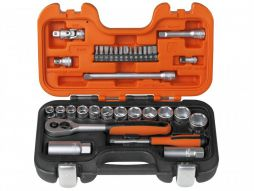 Bahco Socket Set S330 34 Piece Metric 1/4in & 3/8in Drive - £43.20 INC VAT