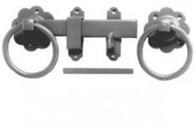1136 150mm Ring Gate Latch Black £8.13