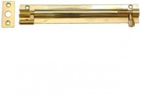 Barrel Bolt 100mm Necked Brass £3.44