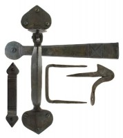 Anvil 33150XL Gothic Extra Long Thumblatch Set Beeswax £37.92