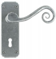 Anvil 33615 Monkeytail Lever Lock Door Handles Pewter £72.92