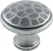 Anvil 33626 30mm Beaten Cupboard Knob Pewter Patina £7.11