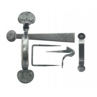 Anvil 33649 Medium Bean Thumblatch Set Pewter Patina £45.54