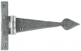 "Anvil 33651 6"" Arrow Head Tee Hinges in Pairs Pewter £22.68"
