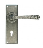 Anvil 33700 Avon Sprung Lever Lock Door Handles Pewter Patina £72.87