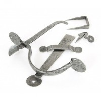 Anvil 33762 Medium Bean Extra Long Thumblatch Set Pewter £48.10