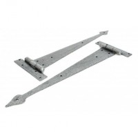 "Anvil 33791 15"" Arrow Head Tee Hinges in Pairs Pewter £42.51"