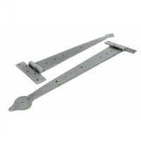 "Anvil 33792 22"" Arrow Head Tee Hinges in Pairs Pewter £54.65"