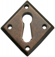 Anvil 33946 Diamond Lever Key Escutcheon Bronze £10.75