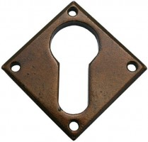 Anvil 33948 Diamond Euro Escutcheon Bronze £11.71