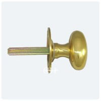 Carlisle Brass AA33 Oval Thumb-turn on Rose for Security Bolt Brass £7.79