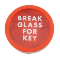 3368 Emergency Break Glass Key Box £8.86