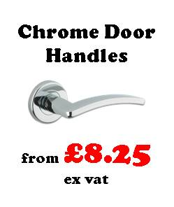 Polished chrome lever door handles from Carlisle Brass, Zoo Hardware, Fortessa. Suitable to replace all popular known brands including Marcus, Heritage Brass, Frelan, Hoppe and Arrone all available to deliver with your other ironmongery direct to site within th UK.