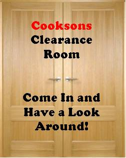 cooksons clearance room obsolete stock gift ideas present