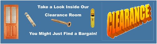 Cookson Hardware's Clearance Room