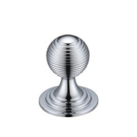 Zoo Queen Anne Ringed Cabinet Knob FCH08ACP 25mm Polished Chrome £3.36