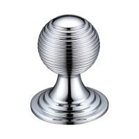 Zoo Queen Anne Ringed Cabinet Knob FCH08CCP 38mm Polished Chrome £6.74