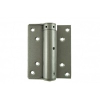 D&E 100mm Compact Single Action Spring Hinges Silver per pair £19.49