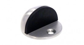 Door Stop Oval Floor Mounted Polished Chrome £3.96