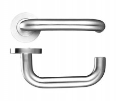 Zoo ZCS030PS 19mm RTD Lever on Rose Door Handles G304 Polished Stainless Steel £13.34