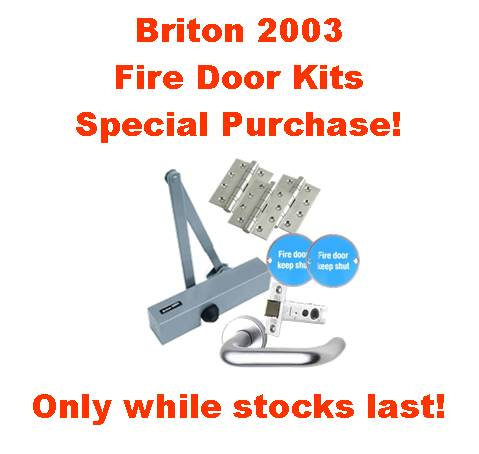 Fire Door Briton 2003 Kit on sale at  Cookson Hardware