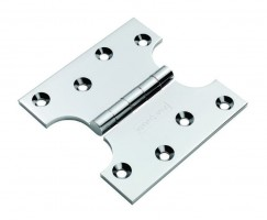 Eurospec Parliament Hinge 100mm x 50mm x 100mm HIN3424SC Satin Chrome per single £7.87