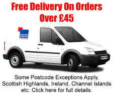 Free delivery on orders over £45. Click here to see our exceptions.