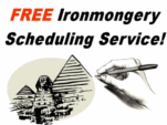 Architectural Ironmongery Scheduling and Quotations