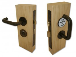 Jeflock Disabled Bathroom Lockset Bronze £369.80