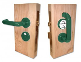Jeflock Disabled Bathroom Lockset Standard Green £158.76