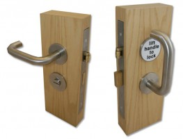 Jeflock Disabled Bathroom Lockset SSS £141.12