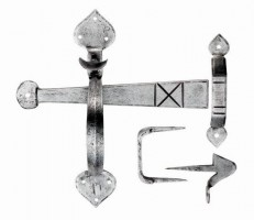 Ludlow PE5535 Gothic Thumb Latch Door Handle Set Pewter £35.62