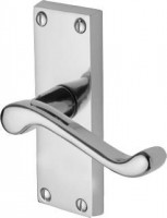 Marcus PR610-PC Malvern Lever Latch Door Handles Polished Chrome £12.31
