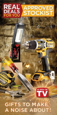 Real Deals For You on tools. A range of power tools and hand tools at bargain prices.