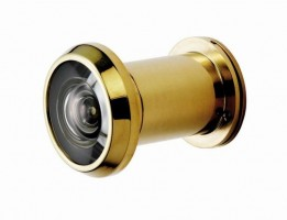 Eurospec 200 Degree Large Door Viewer SWE1010PVD G316 PVD Brass £57.68