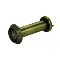 D&E FD60 Fire Rated Door Viewer & Cover Antique Brass 200 Degree 50-70mm £26.06