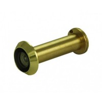 D&E FD60 Fire Rated Door Viewer & Cover Polished Brass 200 Degree 50-70mm £22.38