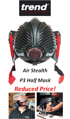 Trend Air Stealth P3 Half Mask.