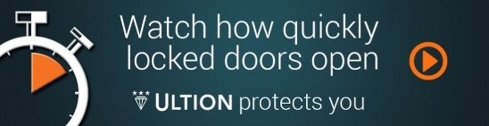 Ultion Locking protects you
