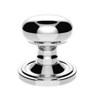 Carlisle Brass Mushroom Mortice Knobs Unsprung Concealed Fix M35CCP Polished Chrome £39.11