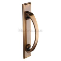 Heritage Brass Pull Handle on Plate V1162-AT 460mm x 76mm Antique Brass £130.36