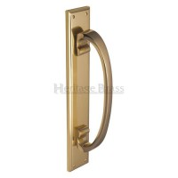 Heritage Brass Pull Handle on Plate V1162-PB 460mm x 76mm Polished Brass £112.95