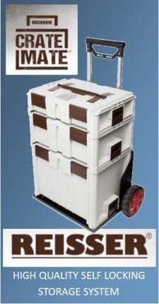 Reisser Crate Mate Storage System.