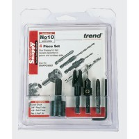 Trend SNAP/PC10/Set Snappy Plug Cutter NO 10 Screw Set £34.51