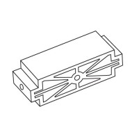 Trend WP-HJ/C/03B Fixed End Block Plastic c/w M5 Insert for the H/JIG/C £4.48