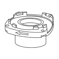 Trend WP-T4/027 Lower Bearing Housing T4 £4.00