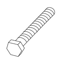 Trend WP-T4/041 Bolt Hex M6 x 48mm T4 £0.84
