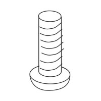 Trend WP-T4/070 Machine Screw Pan M4 x 12mm Pozi £0.84